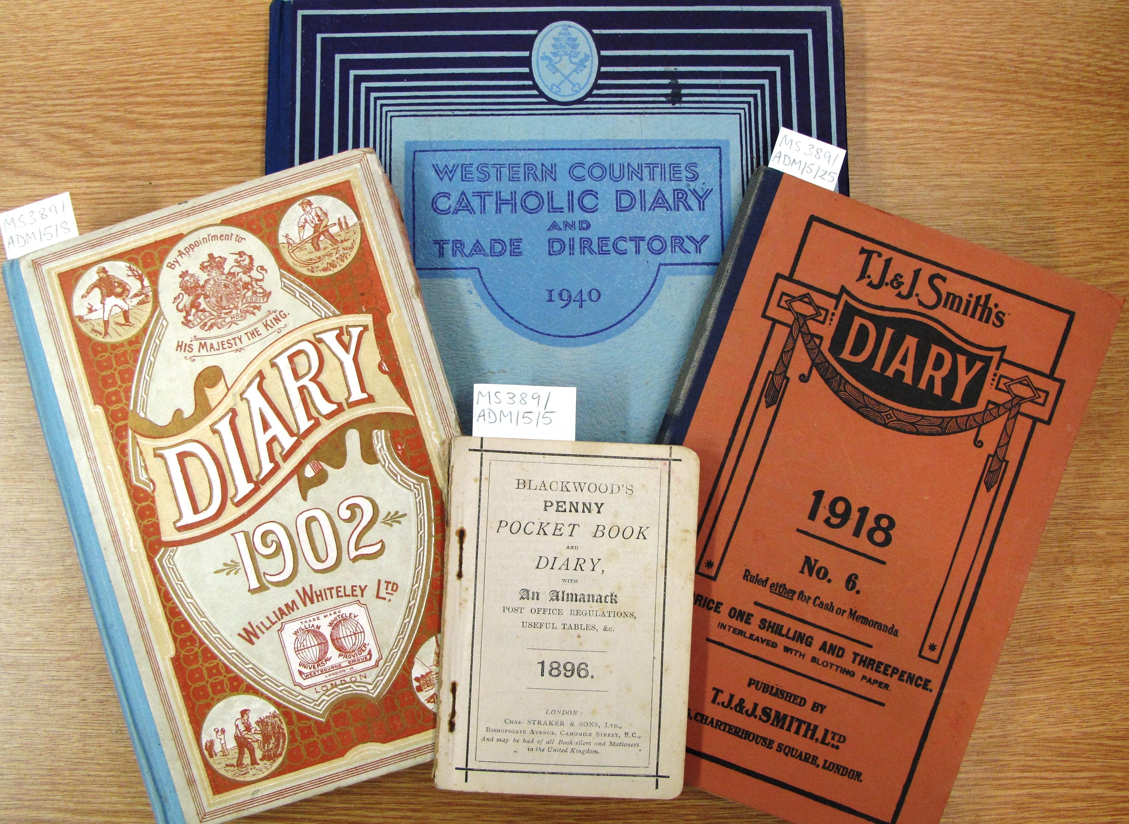 Syon Abbey community diaries (ref: EUL MS 389/ADM/5)