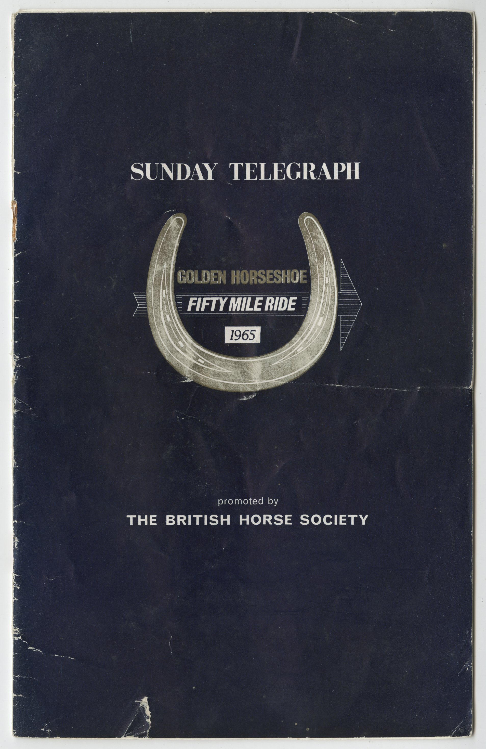 EUL MS 397/568 Programme for Golden Horseshoe Fifty Mile Ride 1965