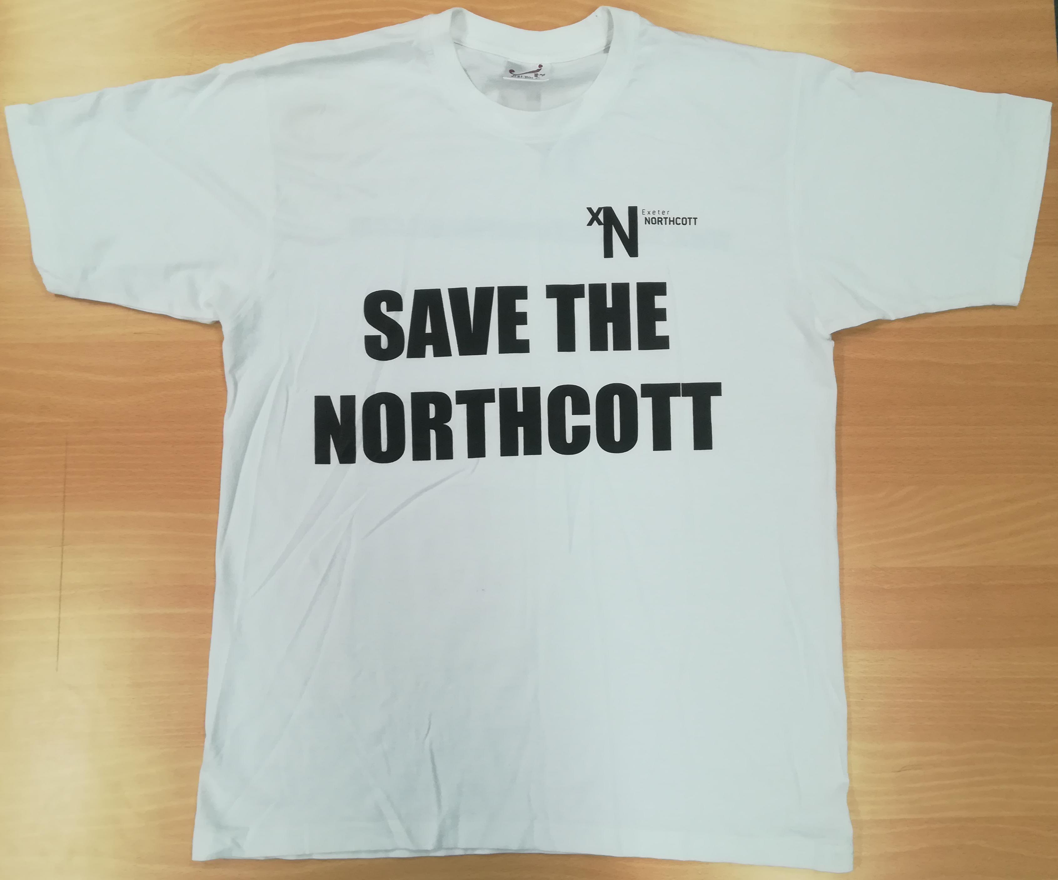 Save the Northcott campaign t-shirt