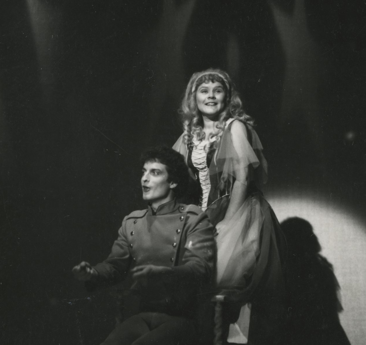 EUL MS 348 - Imelda Staunton as Cinderella, possibly with buttons (1978) ©Nicholas Toyne