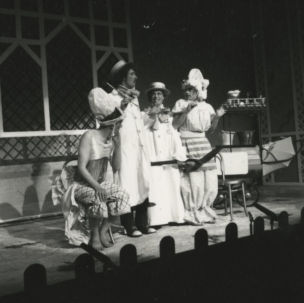 EUL MS 348 - The ugly sisters are transformed in Cinderella (1978) ©Nicholas Toyne
