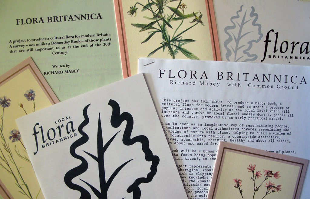 EUL MS 416/PRO/7 - Archive material relating to the 'Flora Britannica' project