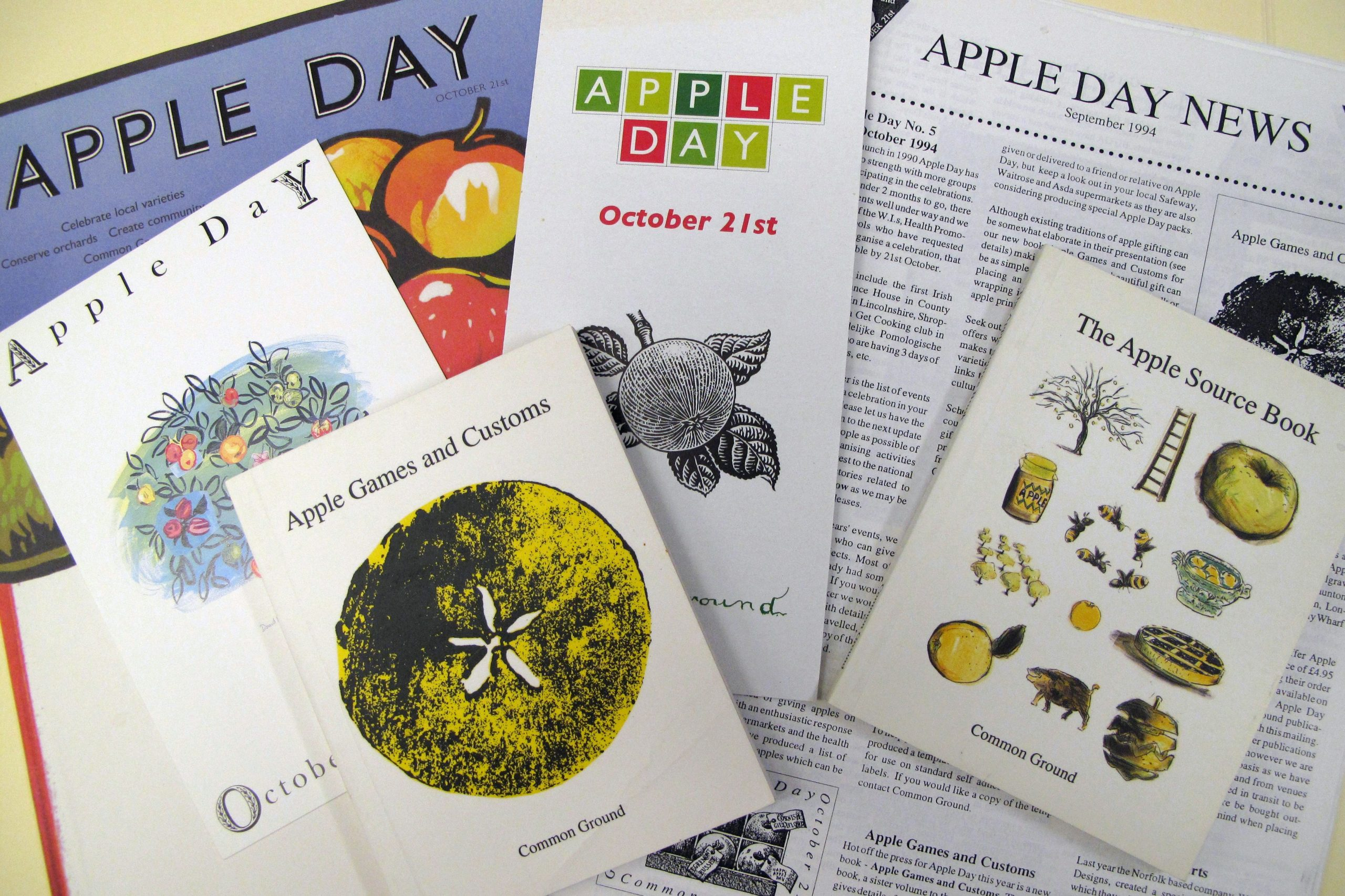 EUL MS 416/PRO/8 - Archive material relating to the 'Apple Day' project