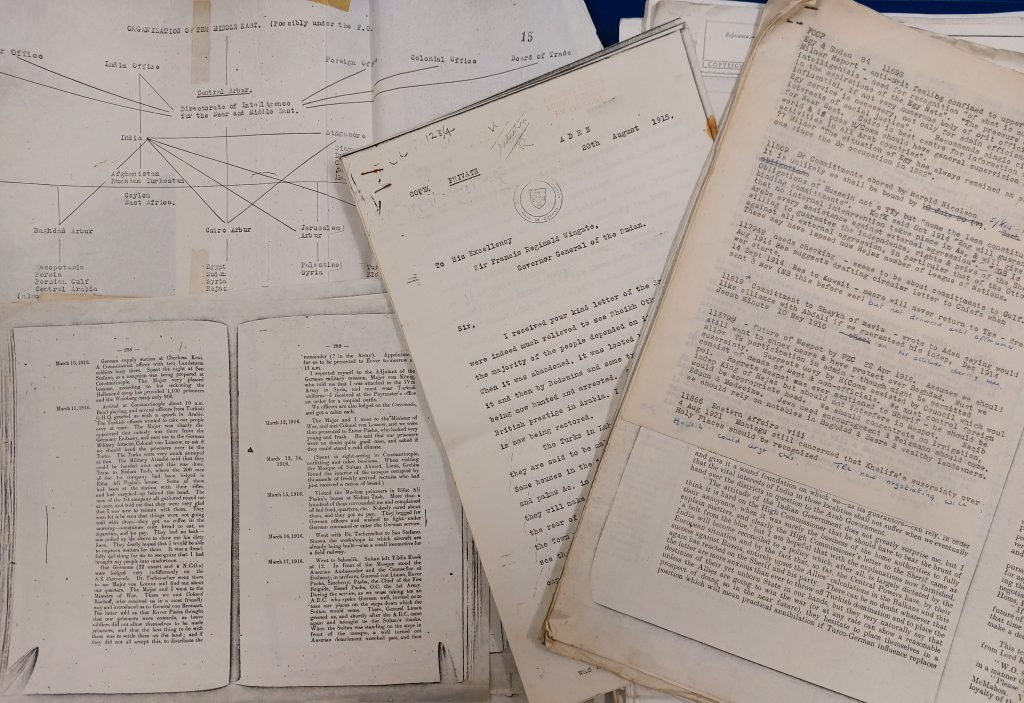 Selection of archival documents relating to the Ottoman Empire
