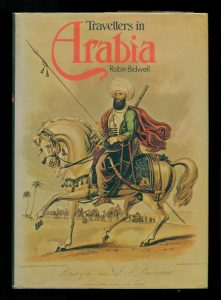 Book cover for Travellers in Arabia (1976)