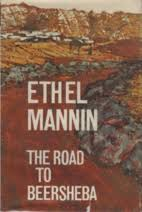 Front cover of Ethel Mannin's novel The Road to Beersheba